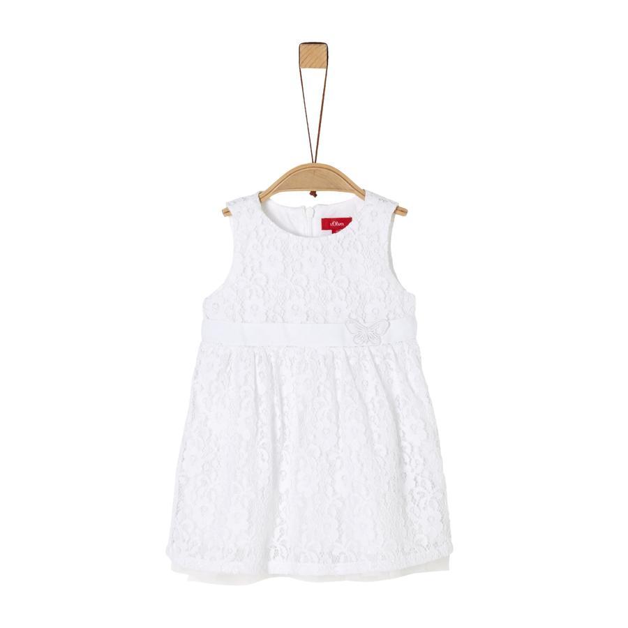 s. Oliver kjole hvid
