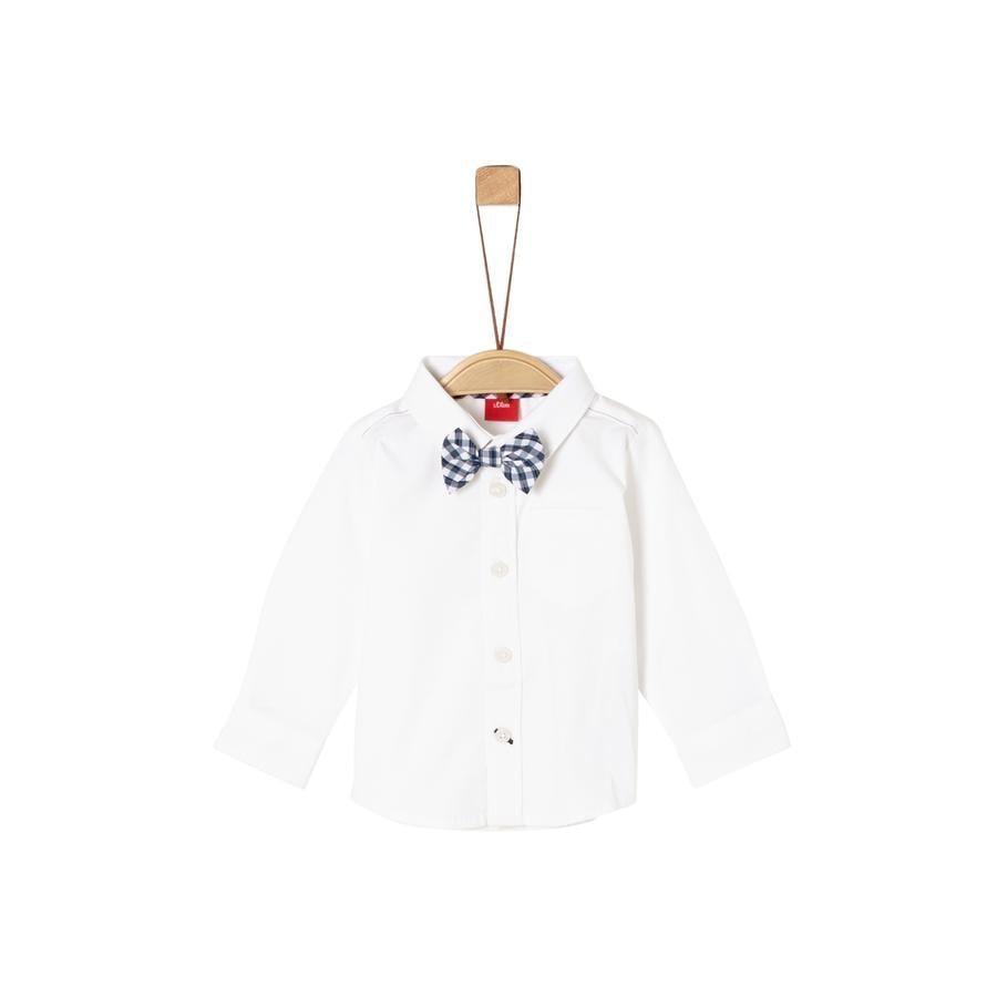 s. Olive r Camisa white