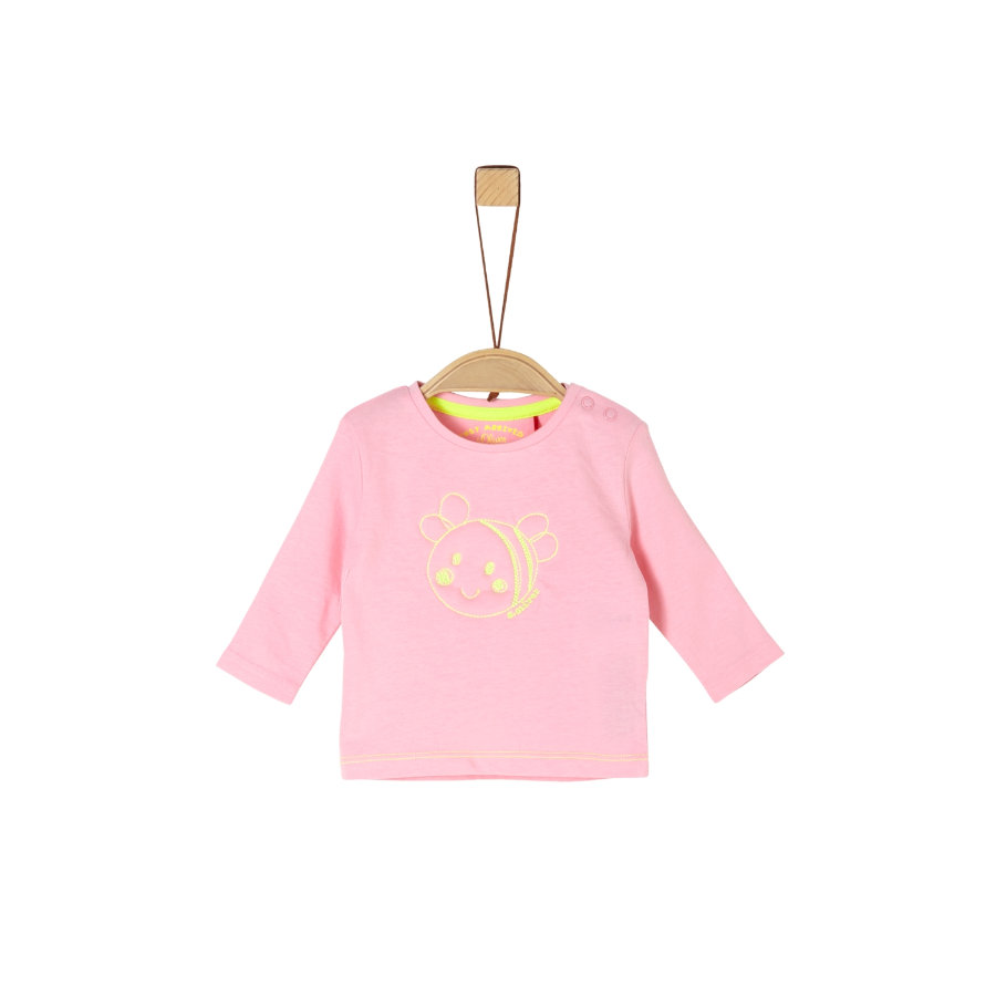 s. Oliv r Långärmad skjorta rosa