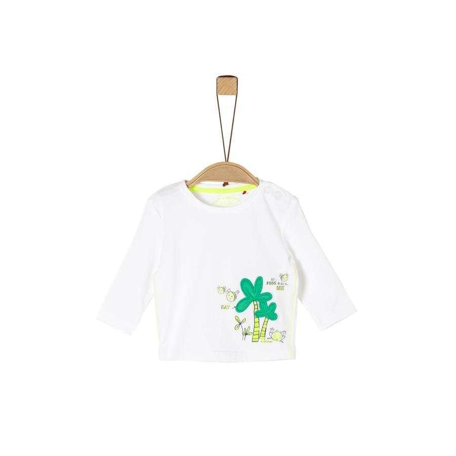 s. Olive r Koszula z długim rękawem white