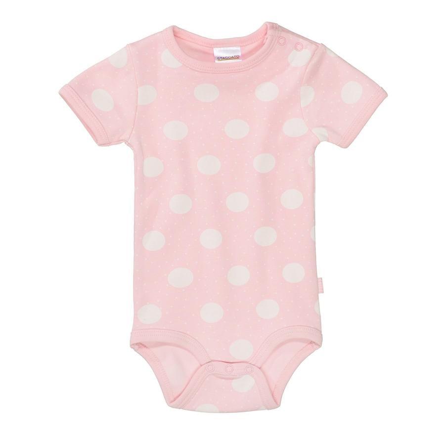 STACCATO  Cuerpo del bebé 1/2 brazo con patrón rosa