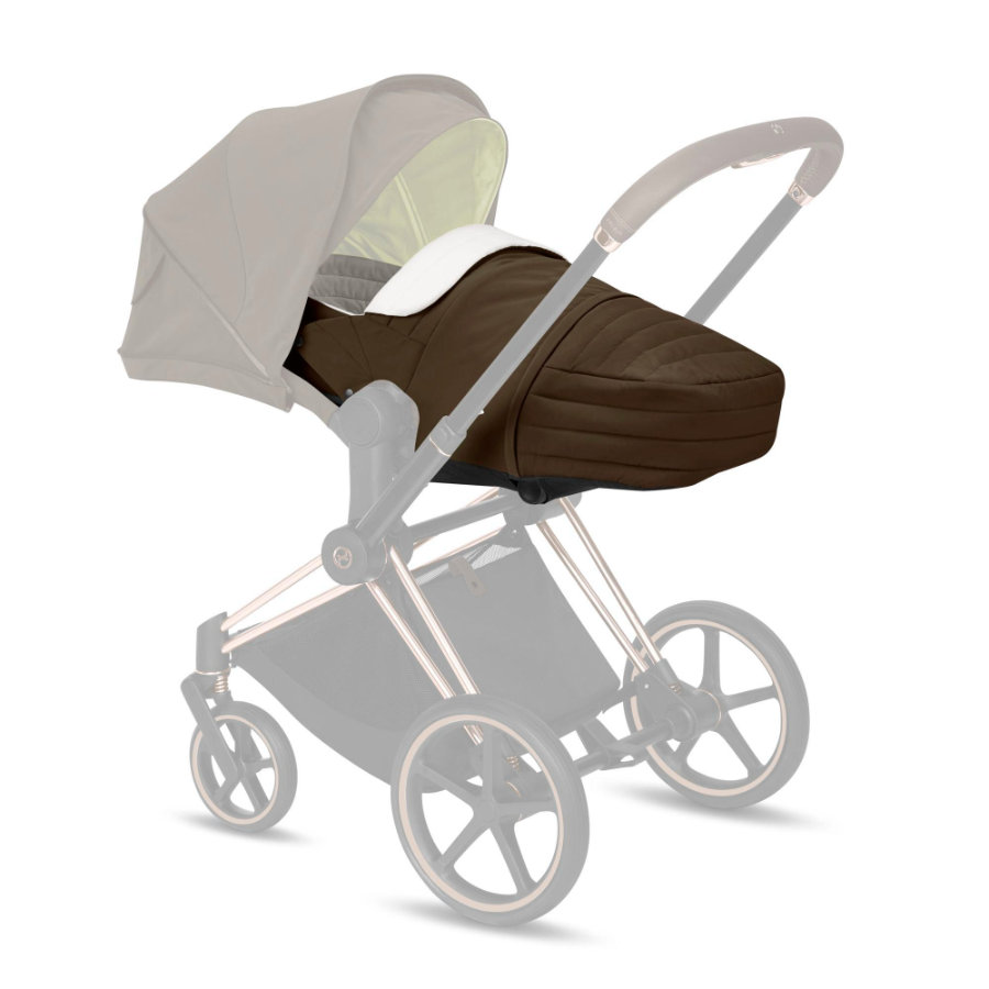 cybex PLATINUM Kinderwagenaufsatz Lite Cot Khaki Green