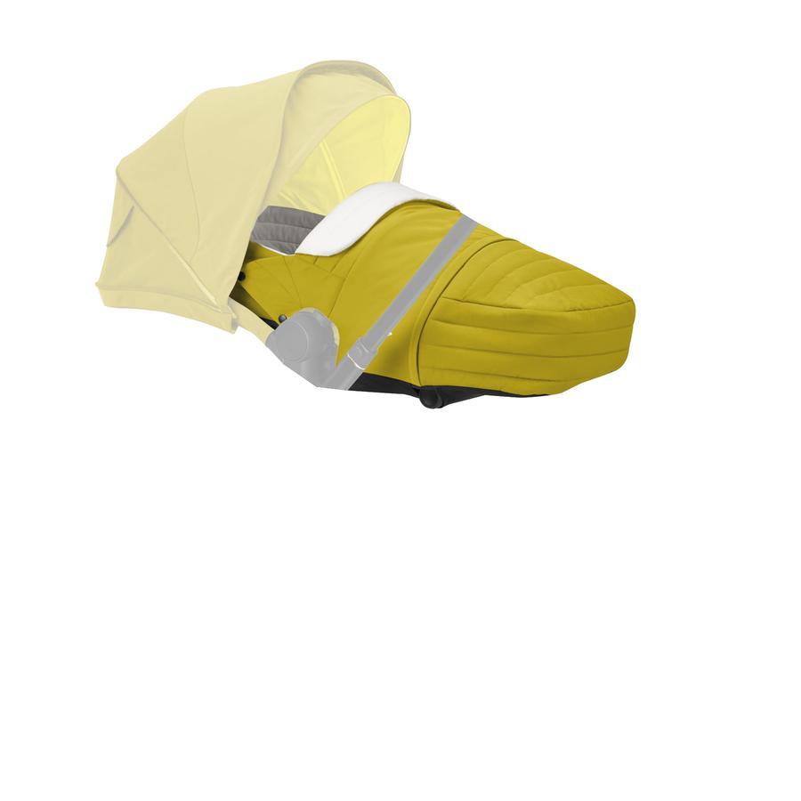 cybex PLATINUM Kinderwagenaufsatz Lite Cot Mustard Yellow