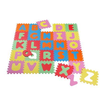knorr® toys Tappetino puzzle Alfabeto, 26 pezzi