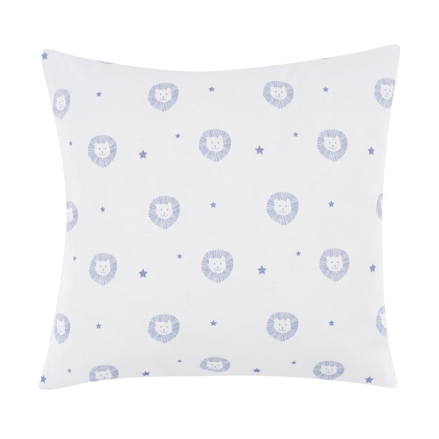 ALVI bellybutton Dekorativní polštář 30 x 30 cm,Classic Line Lion blue