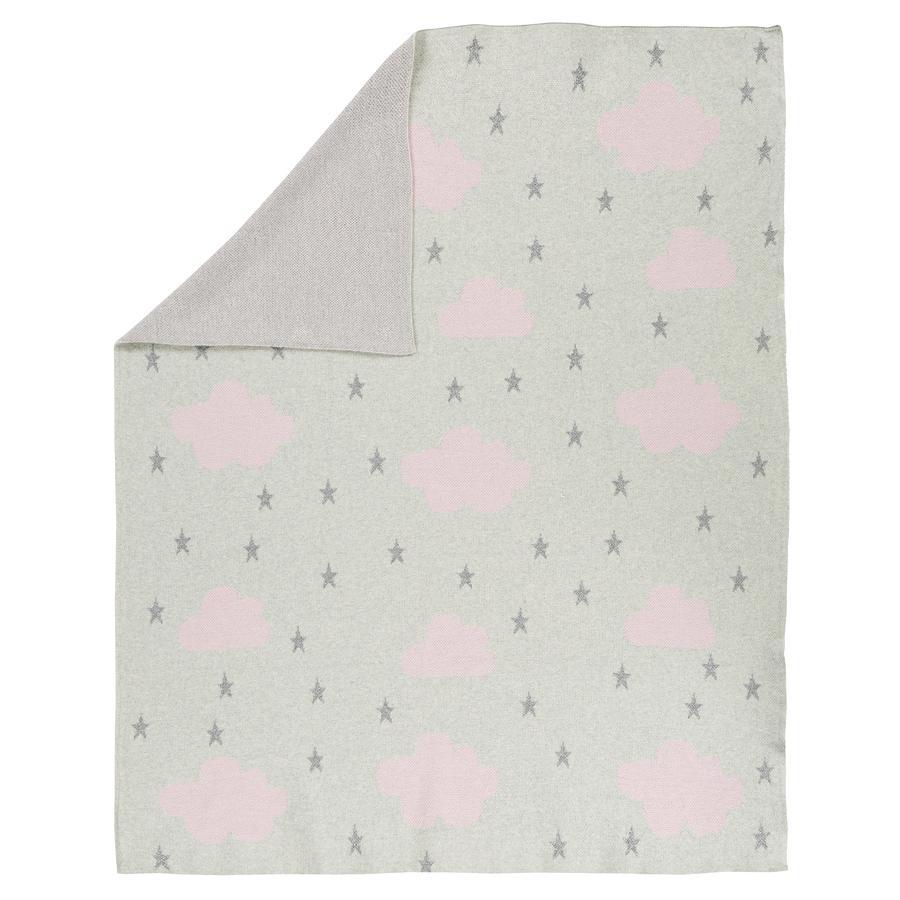 Alvi® Couverture bébé tricot 75x100 cm