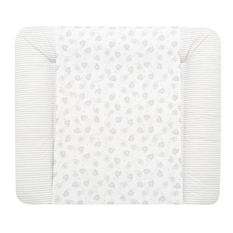 Alvi® Wikoband Soft, Streifenfant silber