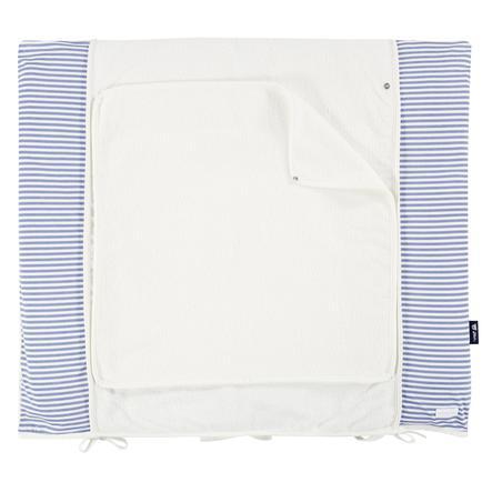 bellybutton by Alvi® Wickelauflage mit Bezug 85 x 70 cm, Löwe blau