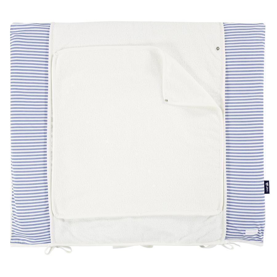 bellybutton przez Alvi ® Wymiana maty z pokrywą 85 x 70 cm, błękit lwa