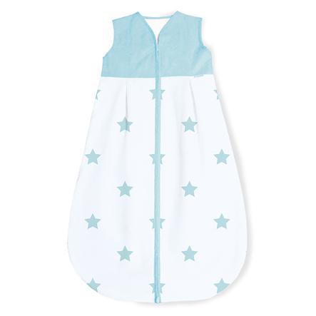 Pinolino Letní spacák hvězda světle modrá 70 - 130 cm