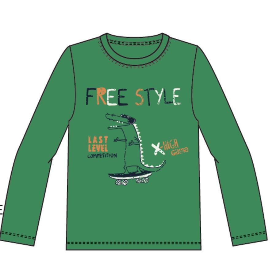 name it Boys långärmad skjorta Vuxi medium grön