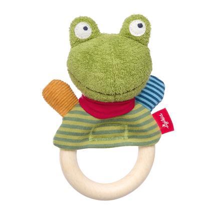 sigikid® Greifring Flecken, Frog