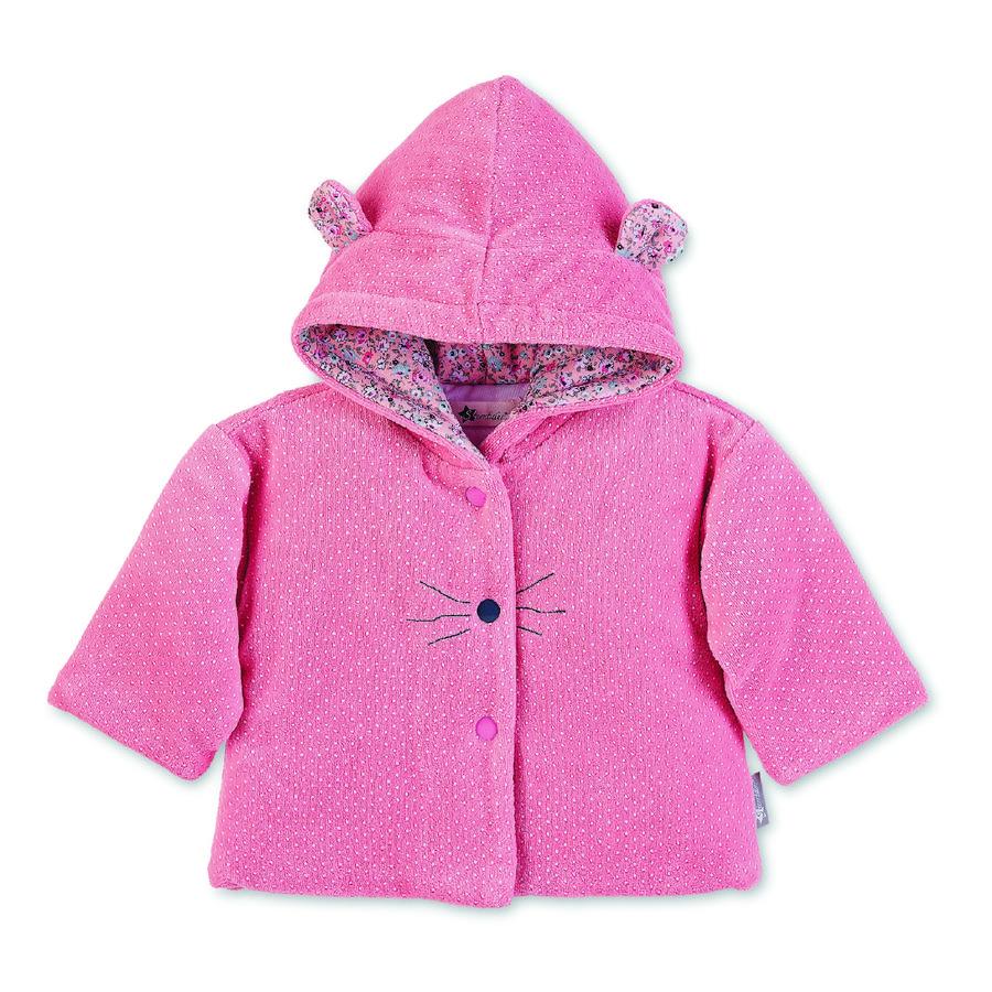 Sterntaler Giacca con cappuccio Nicki Mabel rosa