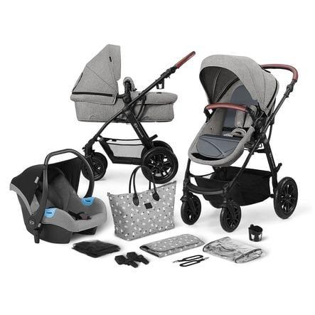 Kinderkraft Cochecito Combi 3 en 1 XMoov Grey