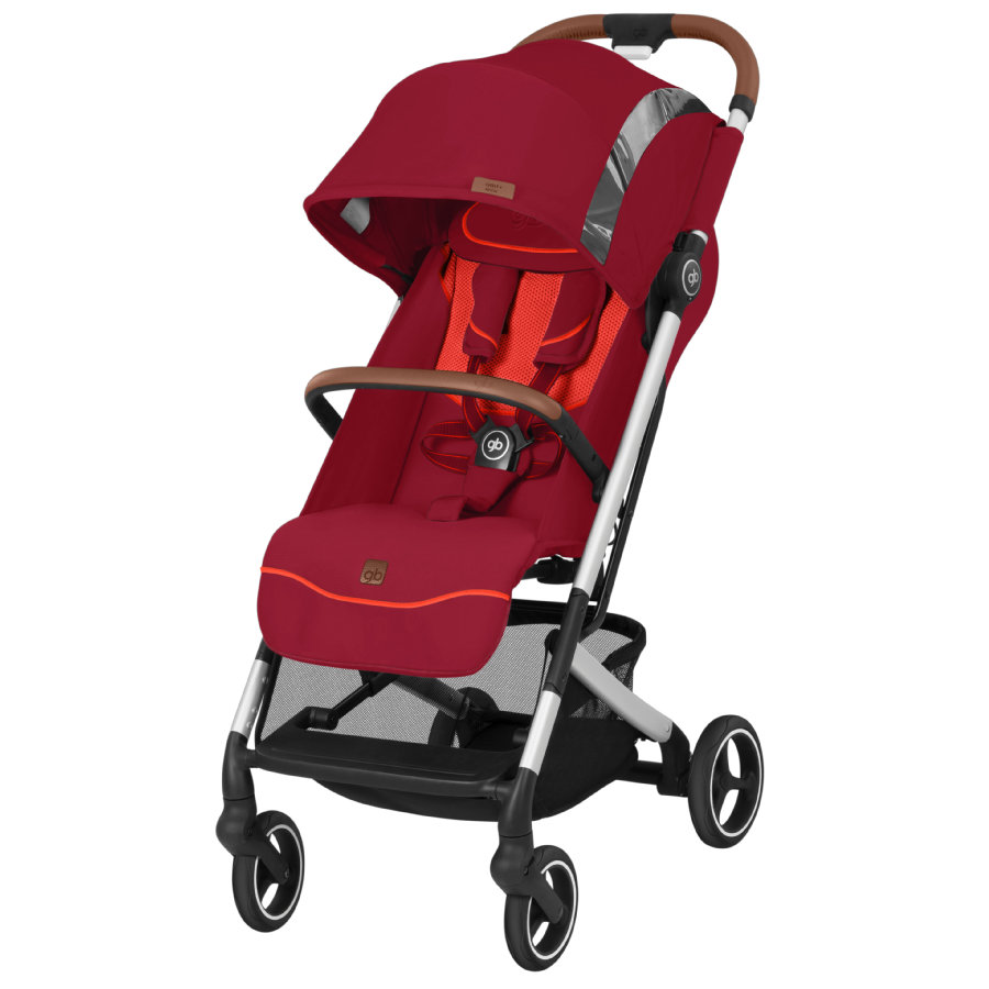 gb GOLD Buggy Pockit Plus All City Fashion Edition Rose Red