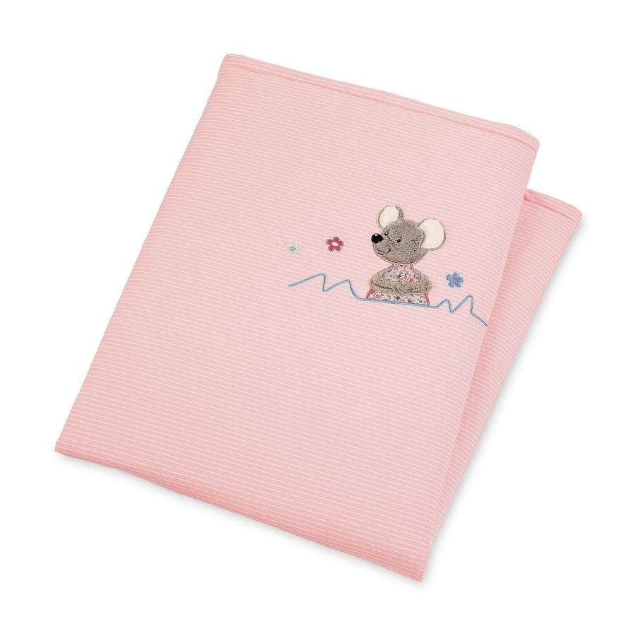 Sterntaler kosligt filt vadderat Mabel 100 cm x 75 cm