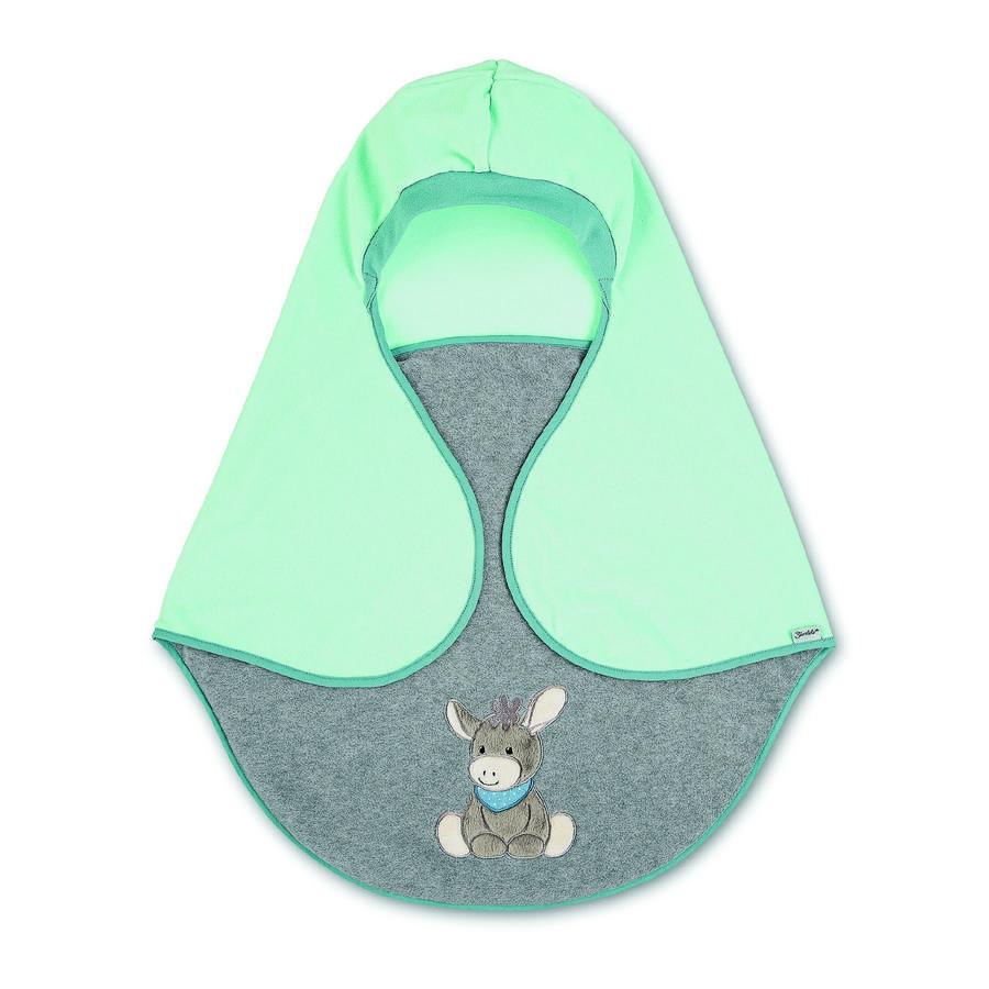 Sterntaler Couverture bébé  enveloppante Emmi l'âne bleu 68x80 cm