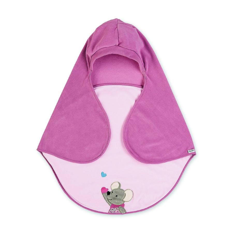 Sterntaler Couverture bébé  enveloppante Mabel souris 68x80 cm