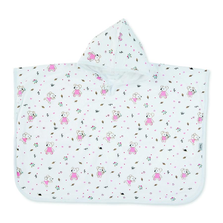 Sterntaler Camiseta de Swimponcho Mabel blanca