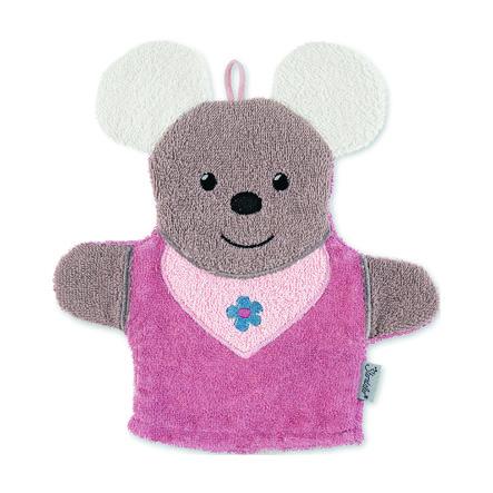 Sterntaler Gant de toilette Mabel rose