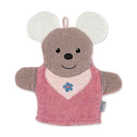 Sterntaler Juega al guante de lavado Mabel rosa