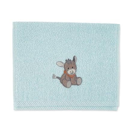 Sterntaler Kinderhandtuch Emmi hellblau 50 x 30 cm