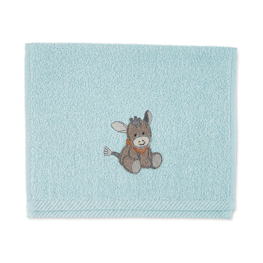 Sterntaler Toalla para niños Emmi azul claro 50 x 30 cm