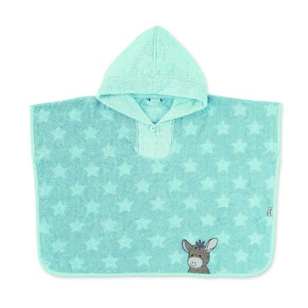Sterntaler Poncho de bain Emmi bleu moyen