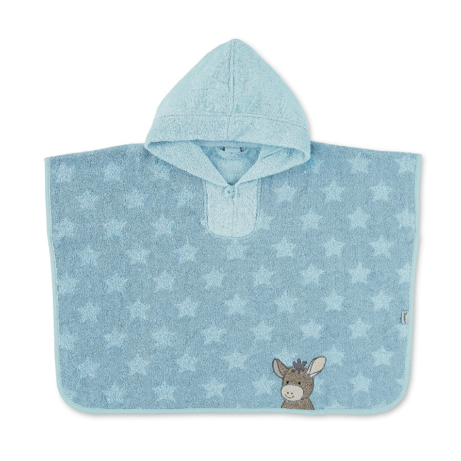 Sterntaler Poncho kąpielowe Emmi blue