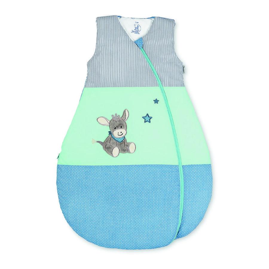 Sterntaler Gigoteuse bébé fonctionnelle Emmi l'âne bleu