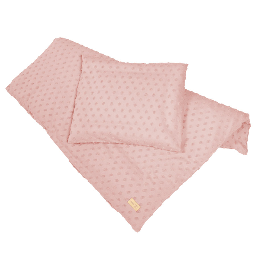roba Wiegenbettwäsche 2-teilig 80 x 80 cm Lil Planet rosa