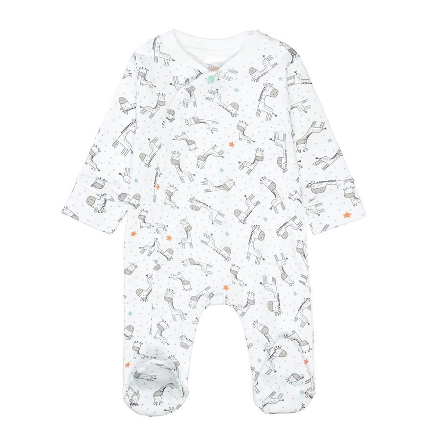 STACCATO Pyjama 1tlg. white gemustert