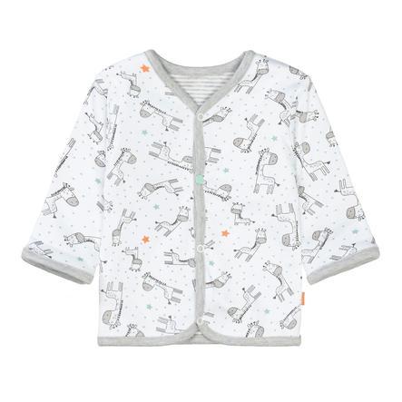 STACCATO  Veste white réversible pour garçons à motifs