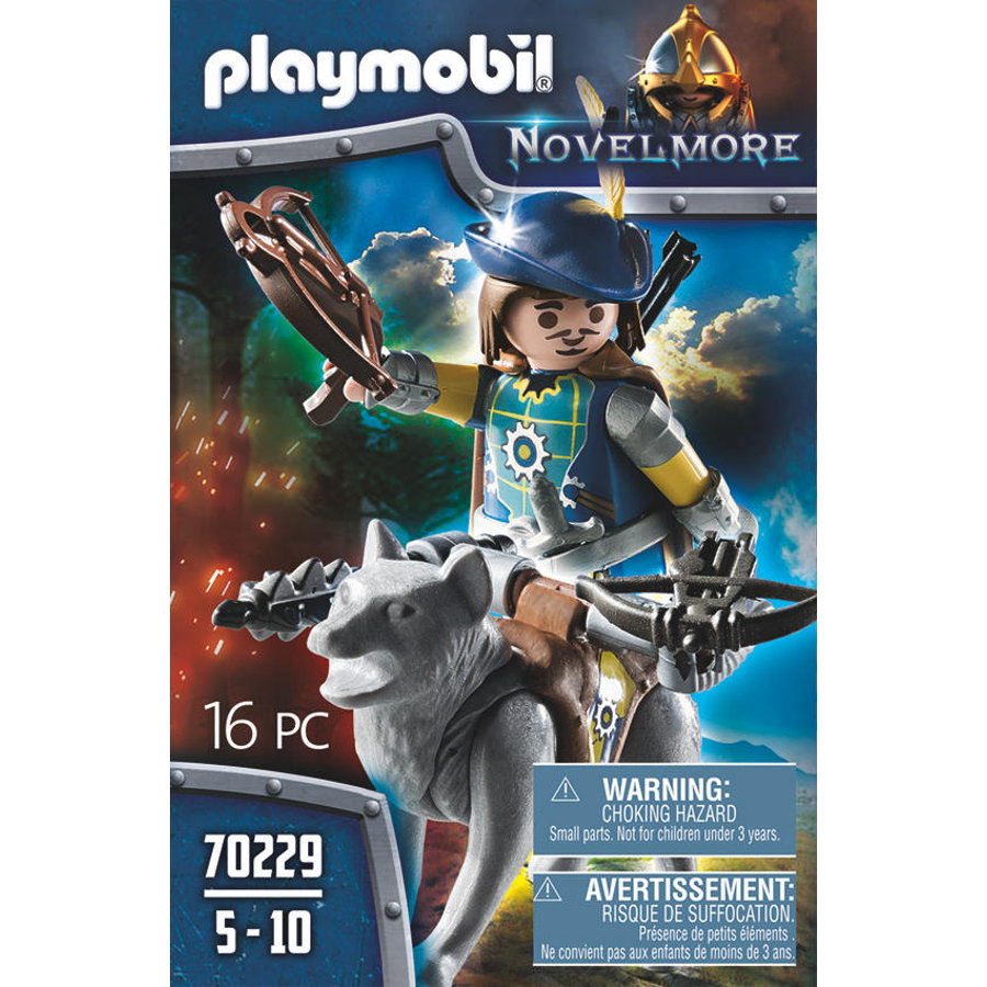 PLAYMOBIL NOVELMORE Novelmore Crossbow Shield s vlkem 70229