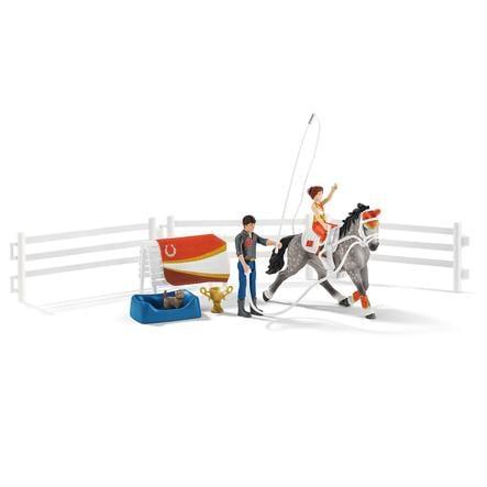 Schleich Horse Juego de equitación del Club Mias Western 42443