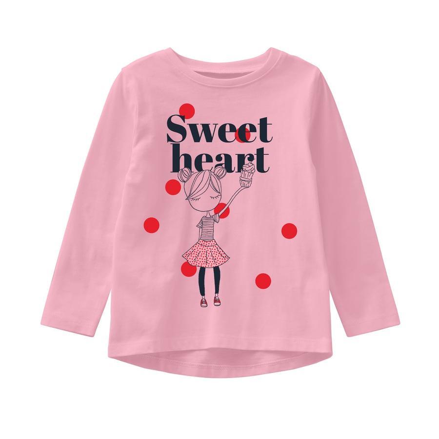 name it Girls Koszula z długim rękawem Veen różowy nektar