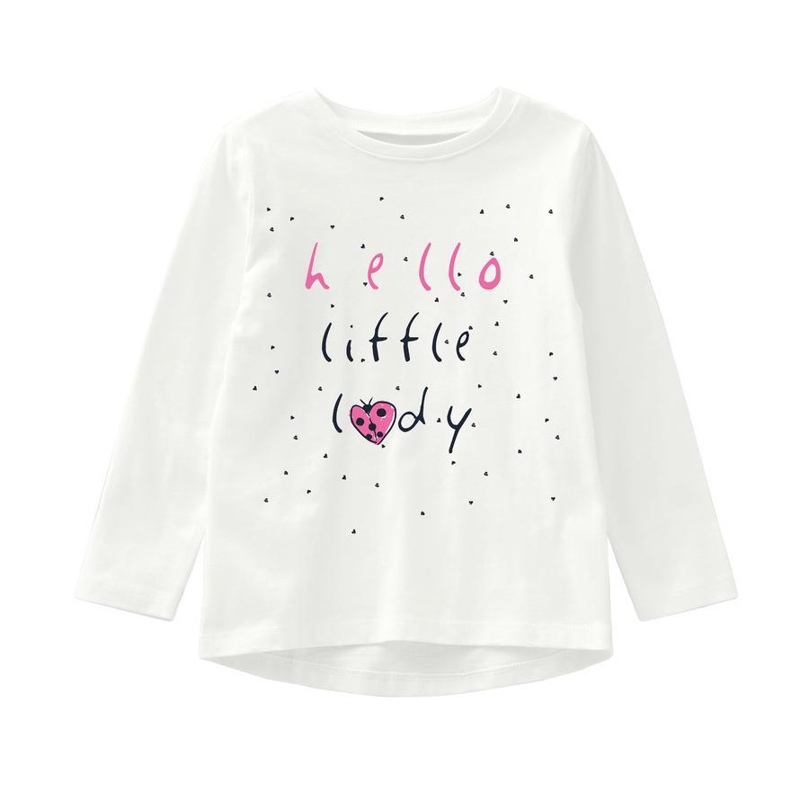 name it Girls Langermet skjorte Veen snøhvit