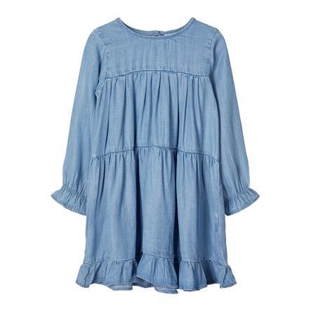 name it Girls dress Nbfdeedee dream blue