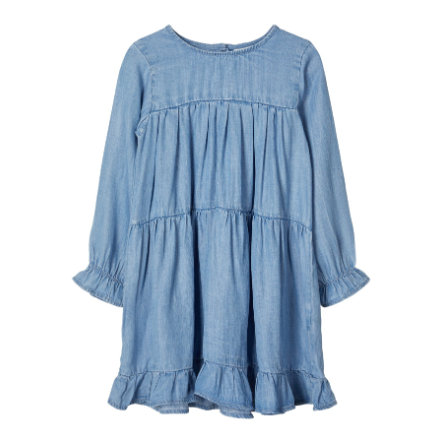 name it Girls robe Nbfdeedee dream bleue