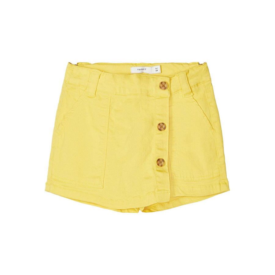name it Girls Shorts Nmfadelle aspen gold