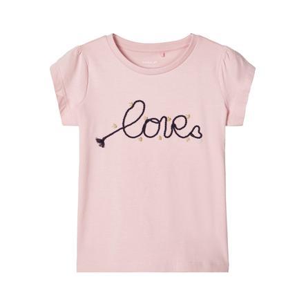 name it Girls T-Shirt Nmfdachain nectar rose