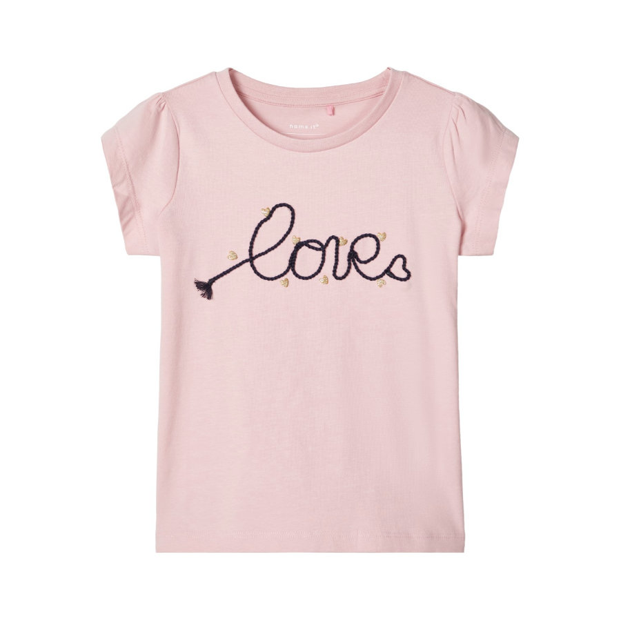 name it Girls T-Shirt Nmfdachain pink nectar