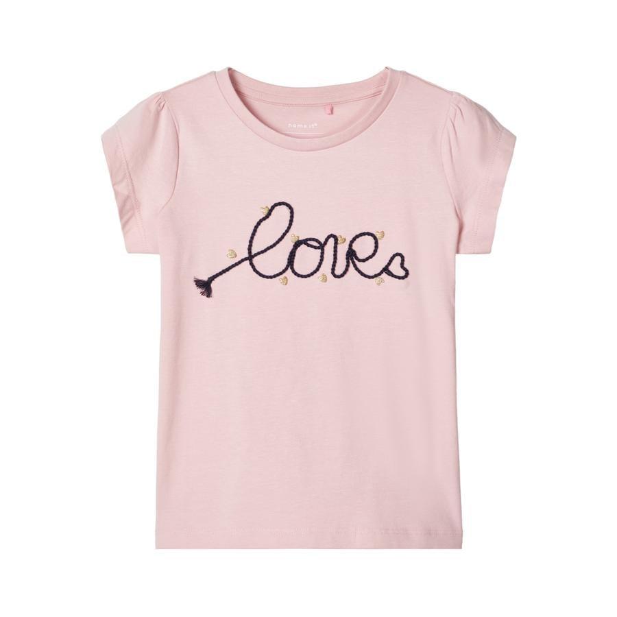 name it Girls T-Shirt Nmfdachain roze nectar