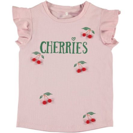 name it Girls T-Shirt Nmfdara nectar rose