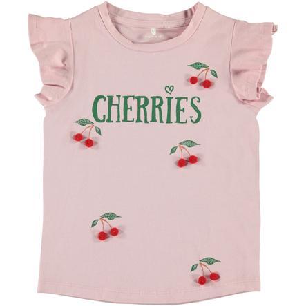 name it Girls T-Shirt Nmfdara pink nectar