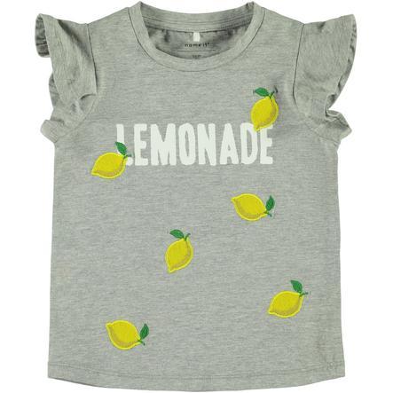 pojmenujte to Dívčí tričko Nmfdara šedá melanž