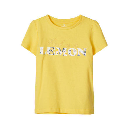 name it Girls T-Shirt Nmfdagne aspen gold