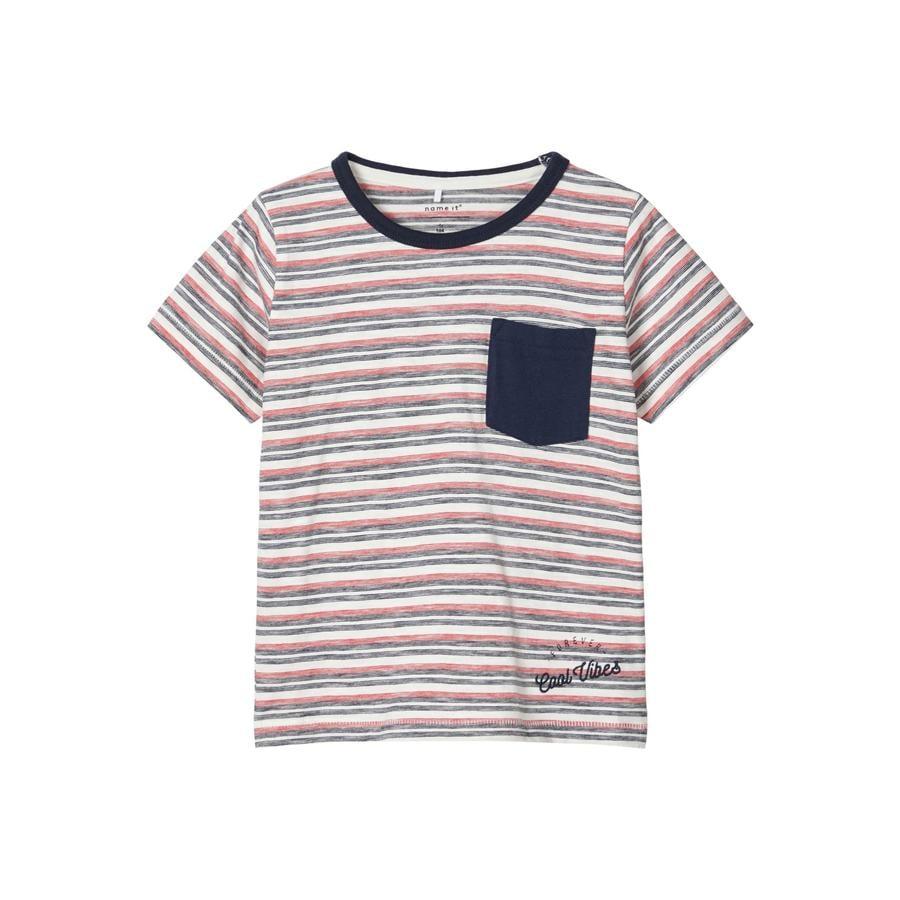 name it Boys T-Shirt Nmmdillon snow white