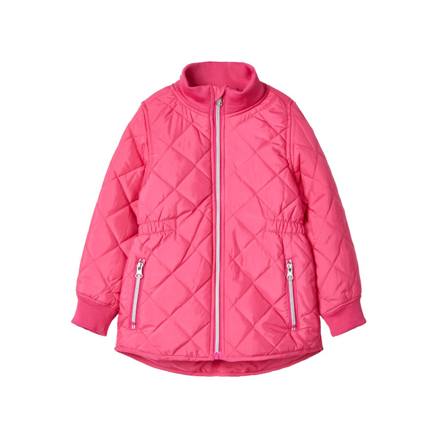 name it Girls Jacket Nmfmohanna fuchsia purpur