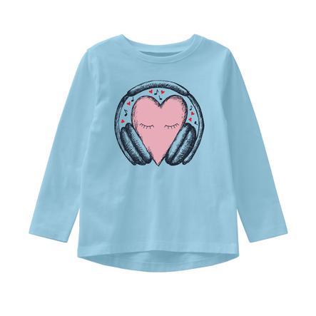 name it Girls Camisa de manga larga Veen dream azul